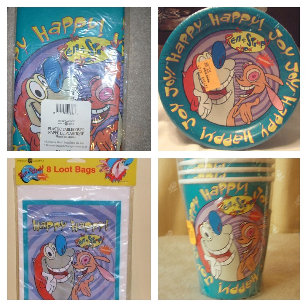 Ren & Stimpy Birthday Party