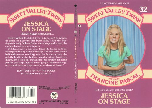 Sweet Valley High Cover Art- James L Mathewuse
