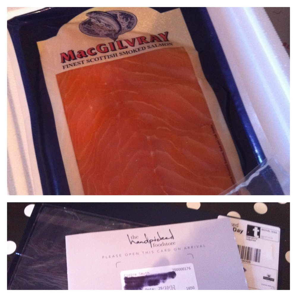 The Handpicked Foodstore- Smoked Salmon Through Your Letterbox