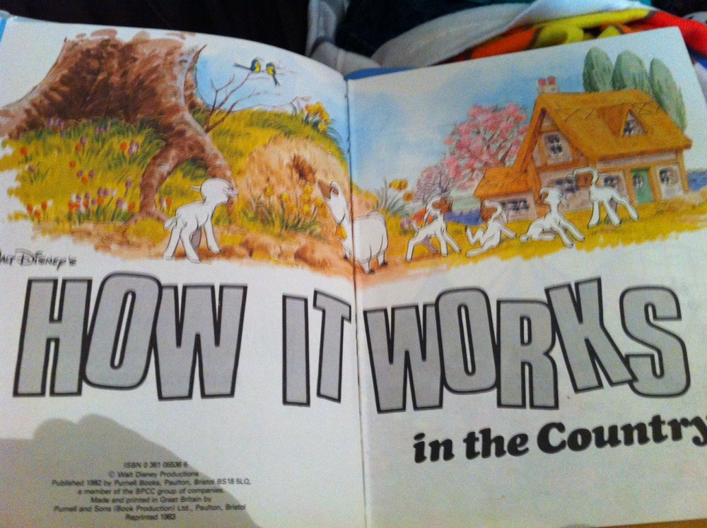 Vintage Disney, How It Works in the Country