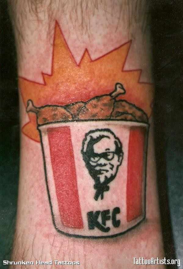 Winner, Winner, Chicken Dinner. KFC Tattoos