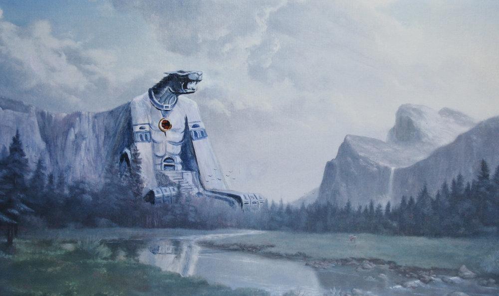 Classic Art Gets 'Painting Bombed' by Mario, She-ra & The Thundercats