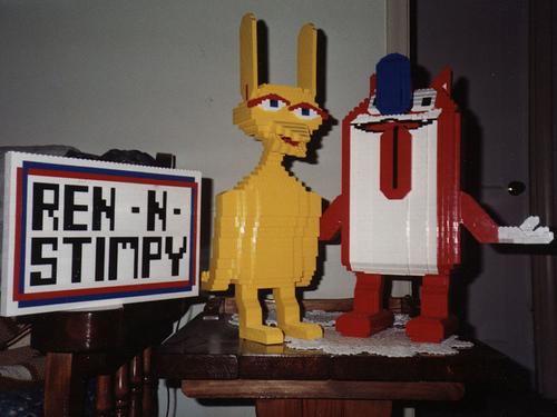 Lego Ren & Stimpy