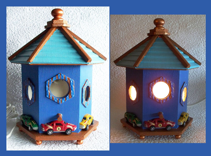 Toadstool House Nightlight