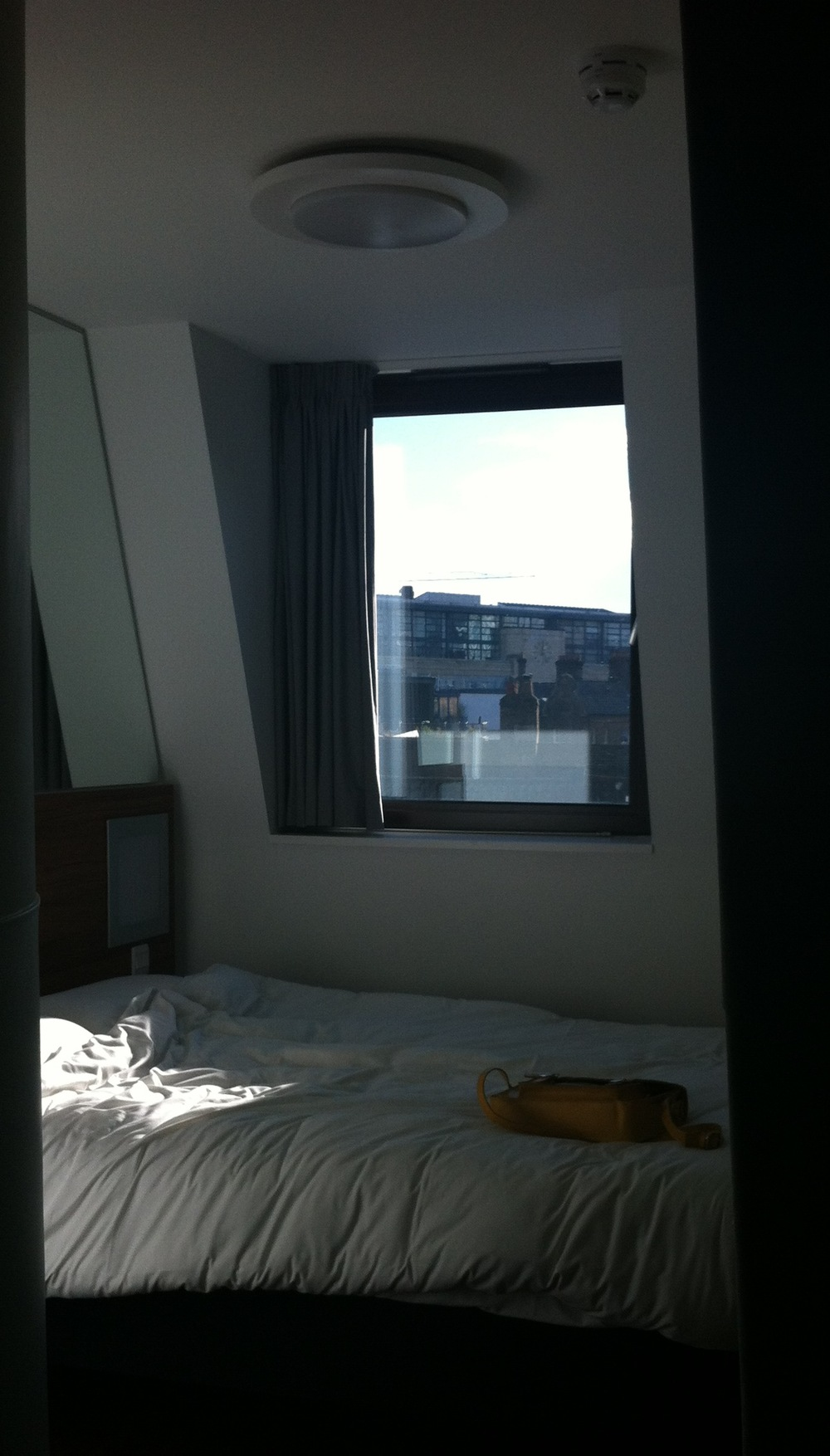My Own London Sanctuary, Tune Hotel, London Liverpool Street.