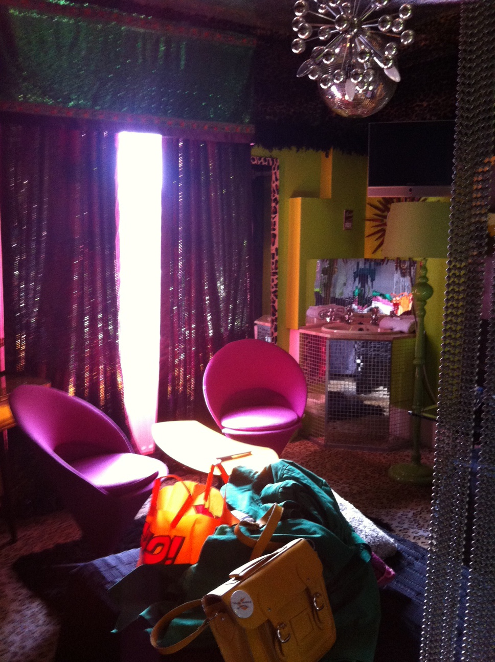 The Funkiest Hotel Room in London