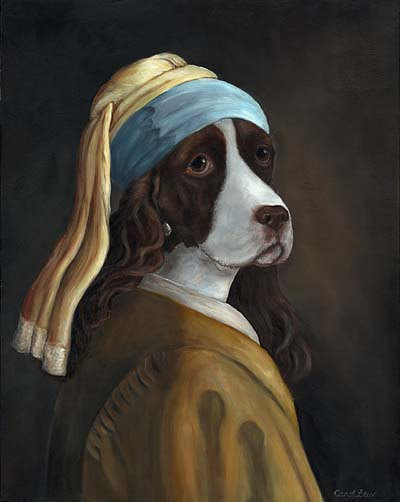 Regal Pugs & The Spaniel with the Pearl Earring
