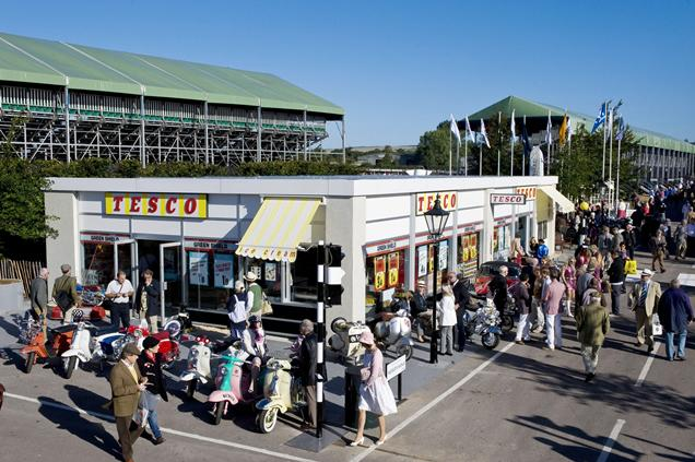 Replica Retro Tesco at Goodwood Festival