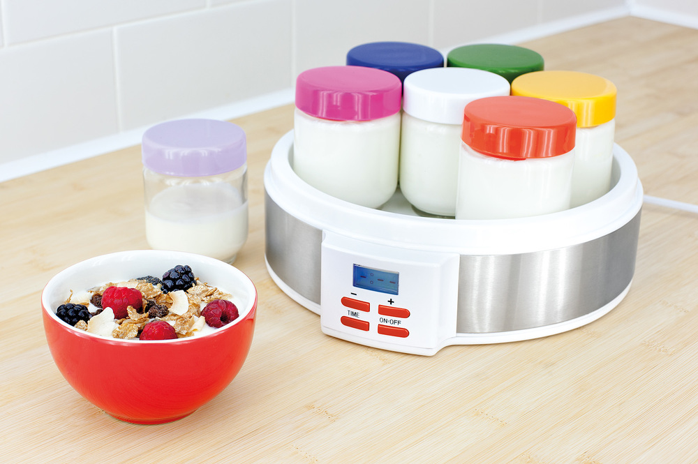 Rainbow Coloured Digital Yoghurt Maker from Judge
