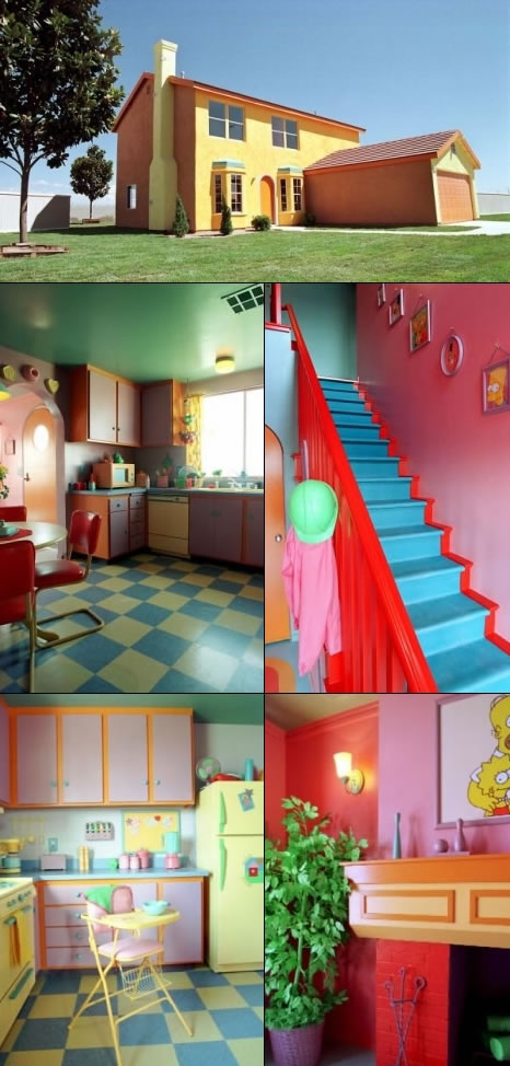 Real Life, Full-size Simpsons' House
