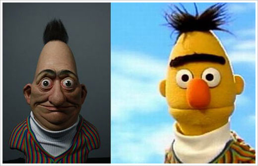 Real Life Bert from Sesame Street