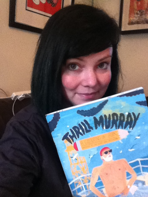 What's That? Oh, That's Just My Bill Murray Colouring Book That Arrived Today