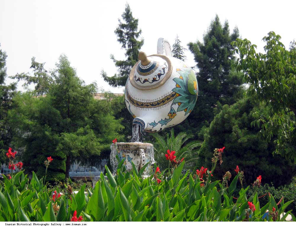 Giant Teapots of the World