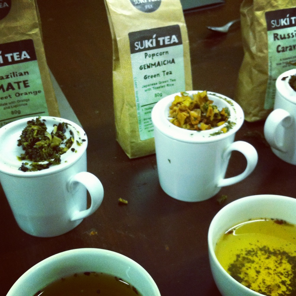 Tea Tasting at Belfast's Suki Tea