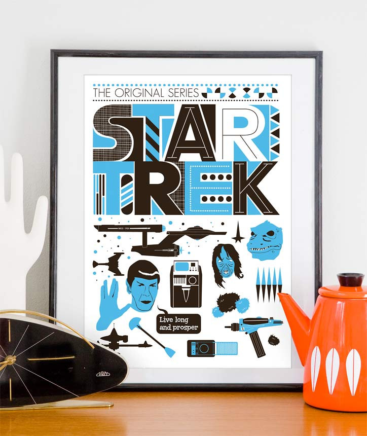 Sleek Scandinavian Design Star Wars Posters