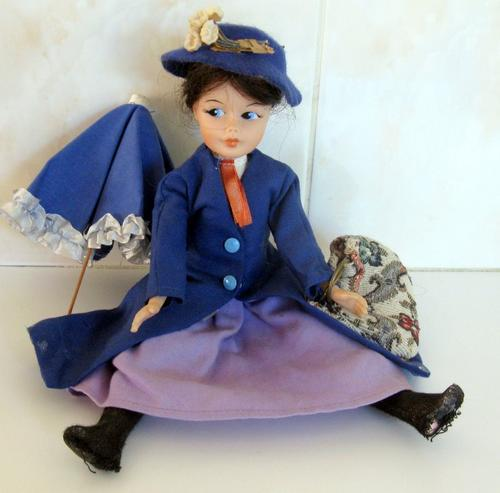 Mary Poppins Dolls Old & New