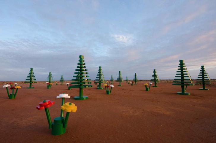 Life size Lego Landscape