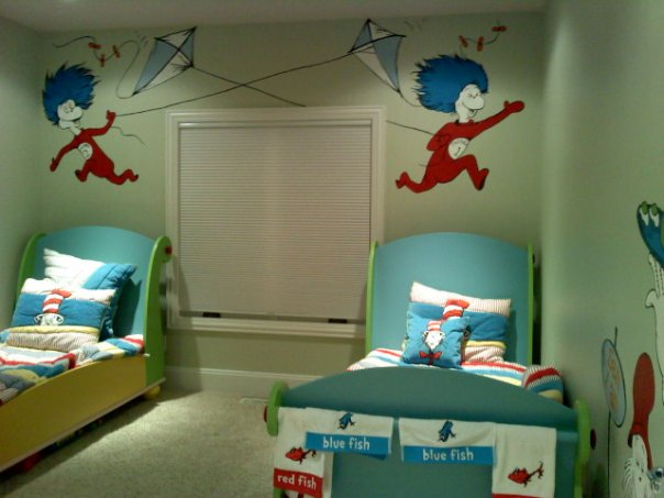 The Best Dr Seuss Themed Children's Rooms
