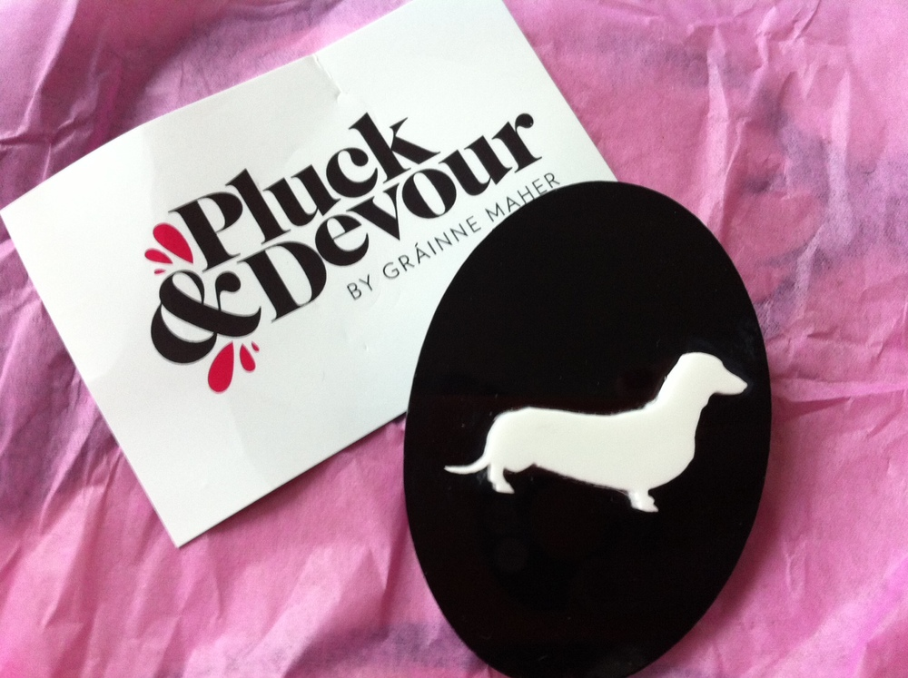 Pooch Cameo- Statement Jewellery by Pluck & Devour