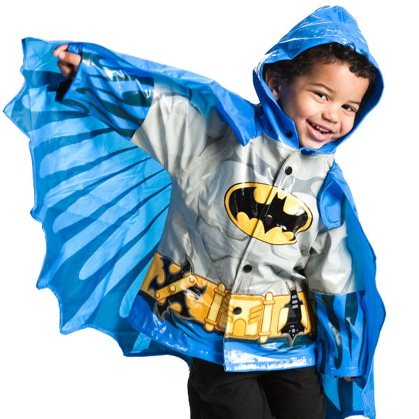 Batman Raincoats- with Capes