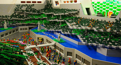 Unbelievably Amazing Logan's Run Lego