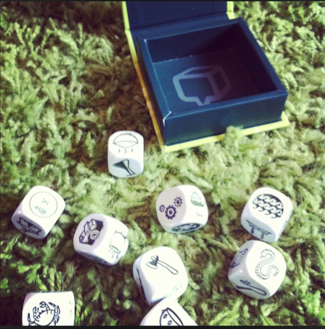 Spark The Imagination of Your Young Novelist with Rory's Story Cubes
