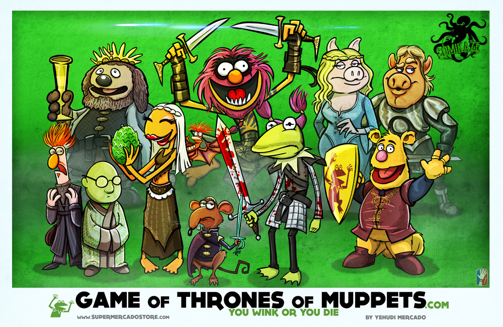 A Muppets Game of Thrones