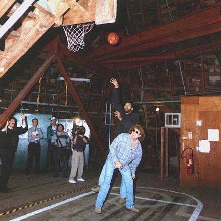 Disneyland's Secret Basketball Court, Hidden Right In the Park