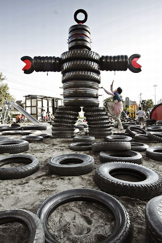 The World's Weirdest Playgrounds