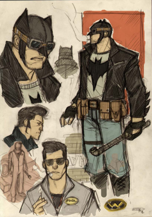 50s' Greaser Batman