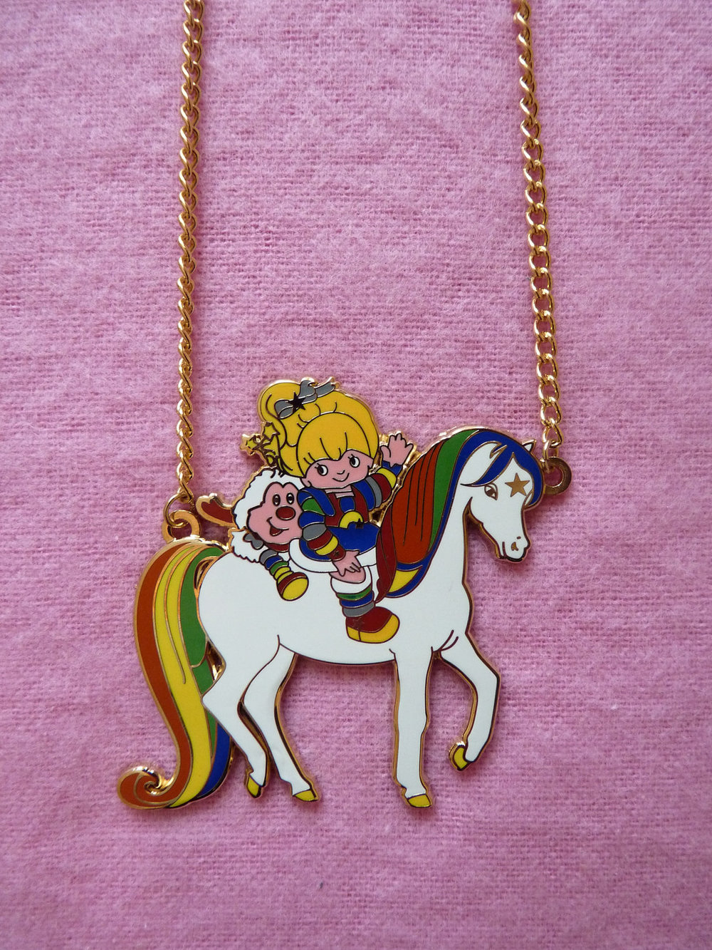 She-ra, Jem & Rainbow Brite Necklaces