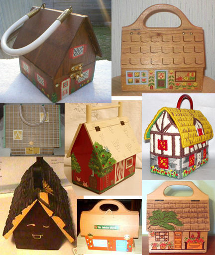 Cuckoo Clock & Cute Cottage Handbags