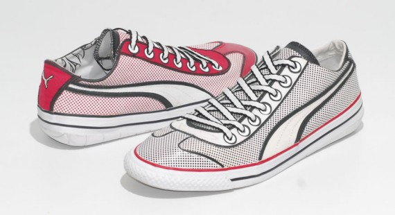 Lichtenstein Pop Art Trainers