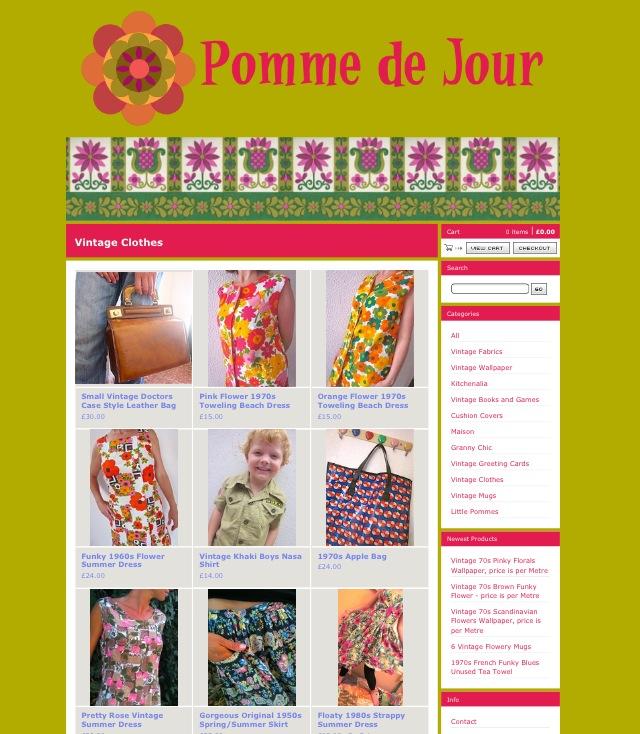 Pomme de Jour, a Luscious Vintage Resource