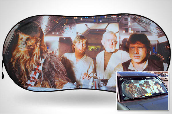 Star Wars Car Windshield