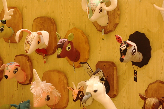 Cutesy Taxidermy Misfit Menagerie