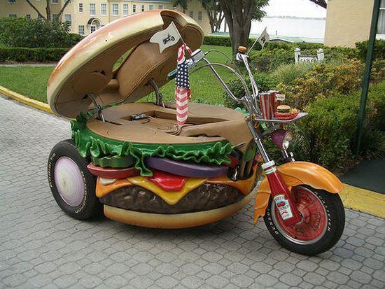 Burger Bed & Motorbike