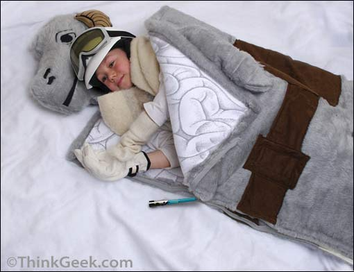 Star Wars' Tauntaun Sleeping Bag