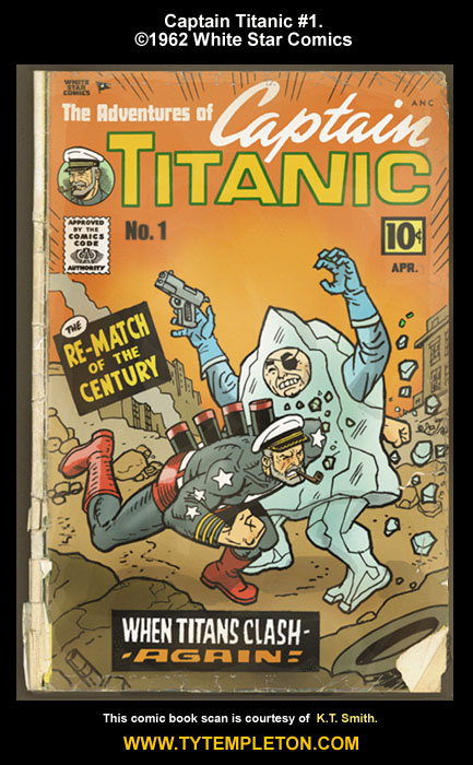 Four Bizarrely Bad Taste Titanic Comic Books