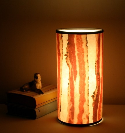 Bacon Lampshade