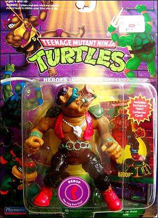 Teenage Mutant Ninja Turtles Bebop Taxidermy