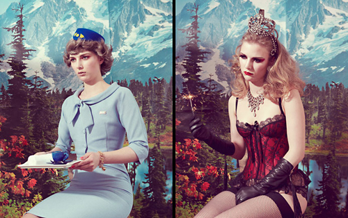 Kitsch Model Photography, Kourtney Roy