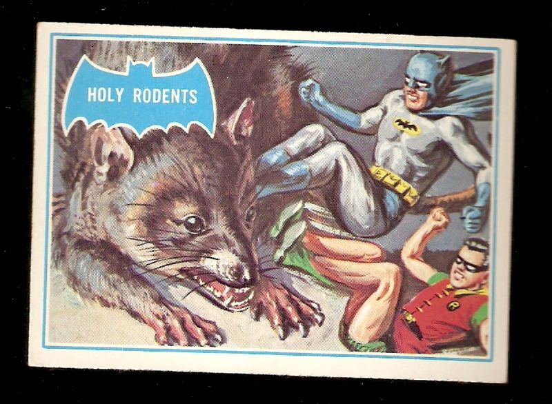 60s' Batman Bubblegum Cards