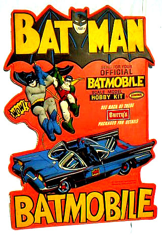 Holy Hobby Kits! 60s' Batman Merch