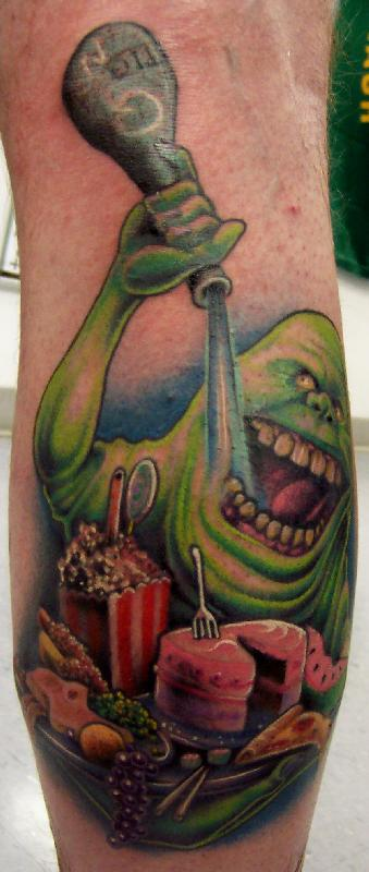Ghostbusters Tattoos, Plus I Meet Some 'Busters