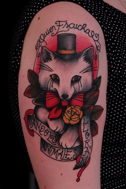 Gentleman Fox Tattoos