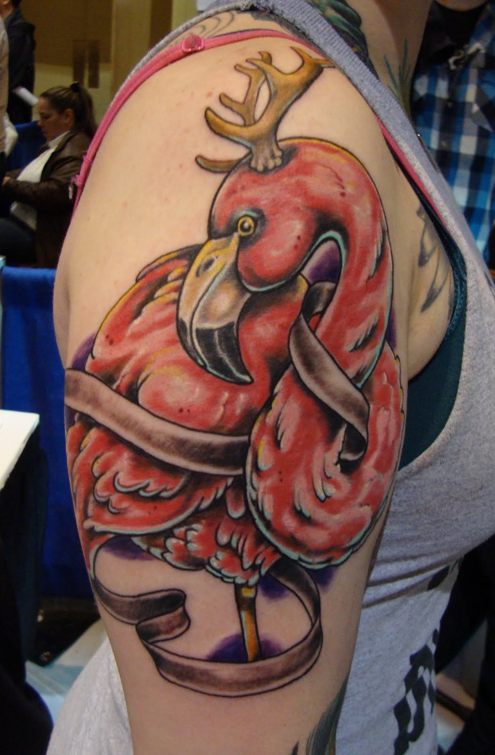 Kitsch Flamingo Tattoos