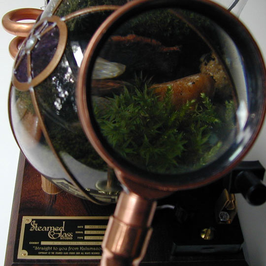 Steampunk Terrariums