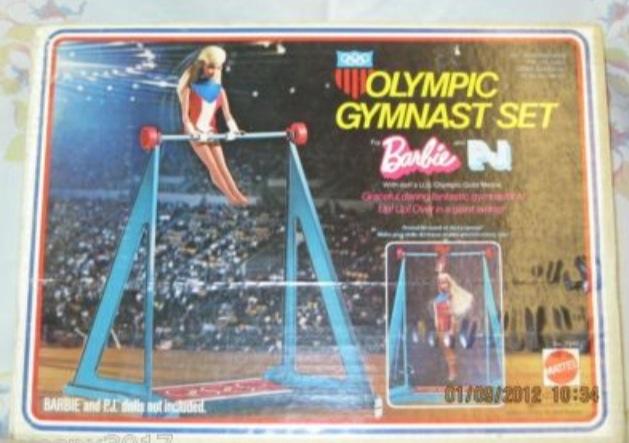 Vintage Olympic Barbies