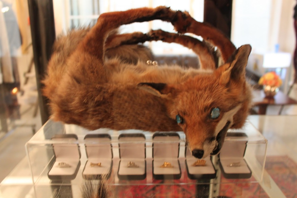 Shocking Fox Handbag by Reid Peppard